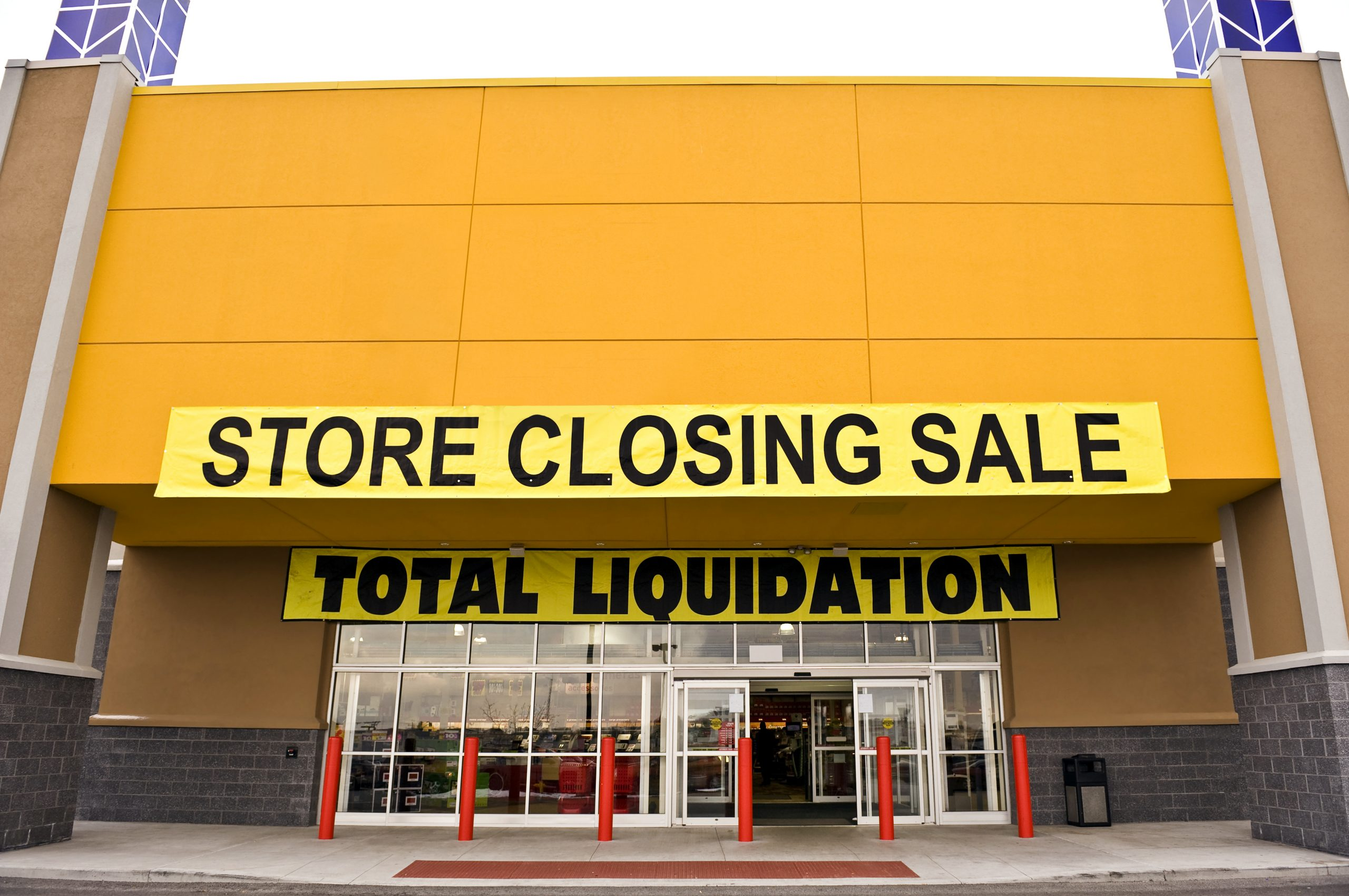 Retail Store Closing